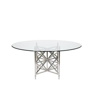 Franklin Glass Dining Table