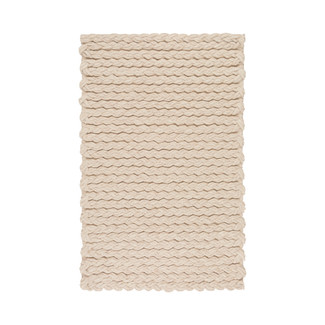 Yukon Beige Braided Wool Area Rug