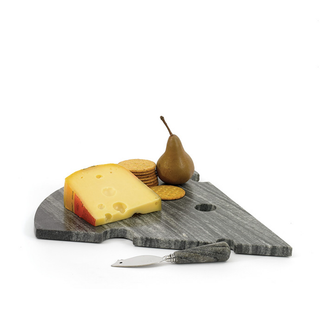Slice Off The Old Block Cheese & Knife Set