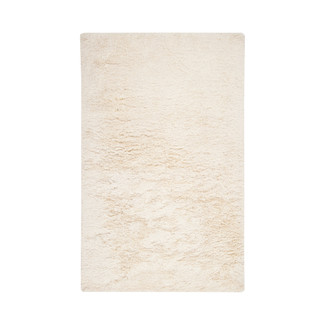PLUSH IVORY NEW ZEALAND WOOL AREA RUG