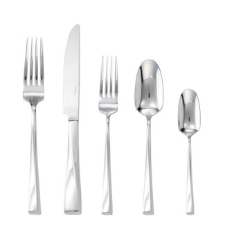 Twist Stainless Steel 5 Pcs Place Setting