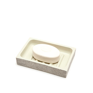 Faux Shagreen Soap Dish