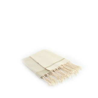 Fouta Guest Towel - Off White & Beige - Set of 2