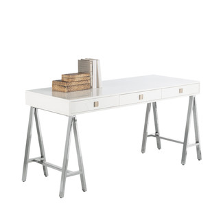 White Contemporary Desk