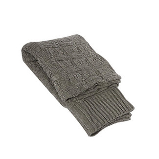 Ash Gray Throw