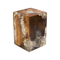 Petrified Salvaged Teak Roots Block