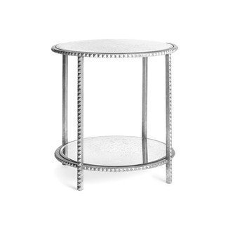 Silver Stud End Table