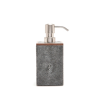 Ash Faux Shagreen Soap Pump