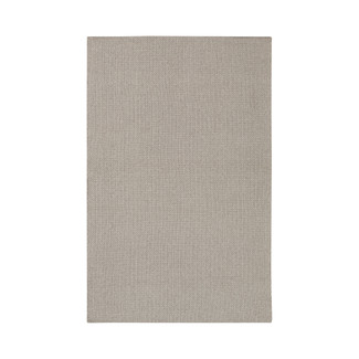 Reversible Outdoor Light Gray Area Rug