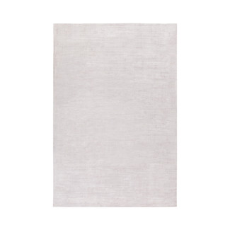 LUSTROUS HAND LOOMED GRAY AREA RUG