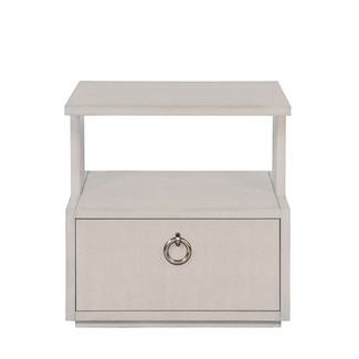 Slocum Hall Side Table - White Lacquer