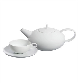Domo White 15 Piece Tea Set