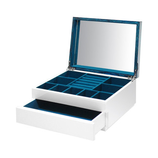 Aura Lacquer 1-Drawer Jewelry Box