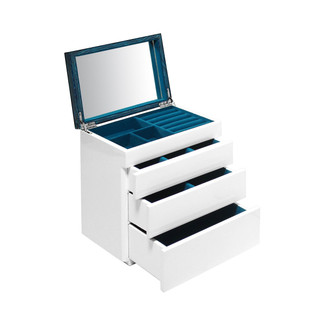 Aura Lacquer 3-Drawer Jewelry Box