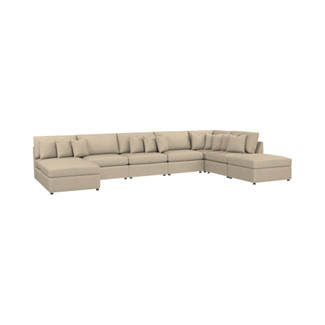 Beckham 8PC U-Shaped Sectional