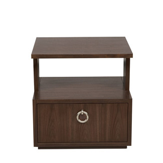 Slocum Hall Side Table- New Rich Walnut
