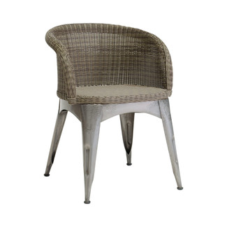 Navy Outdoor Arm Chair