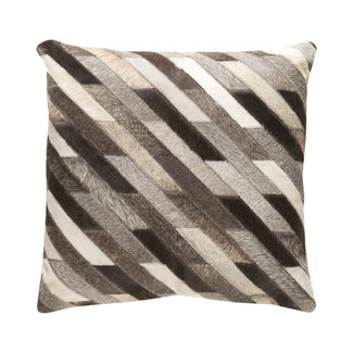 Lycaon Hair On Hide Accent Pillow