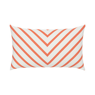Provence Stripe Lumbar Accent Pillow