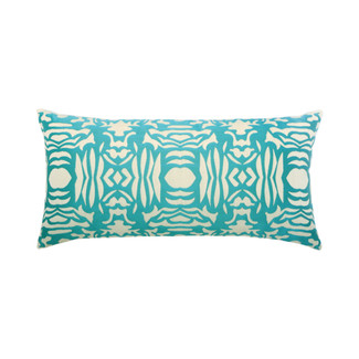 Aruba Block Lumbar Accent Pillow