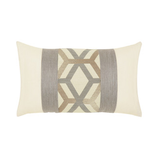 Lustrous Lines Lumbar Accent Pillow