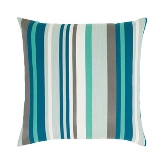 Lagoon Stripe Accent Pillow