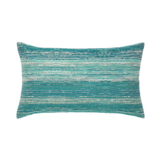 Texture Lagoon Lumbar Accent Pillow