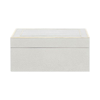 Mateus Faux Shagreen Box