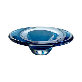 Cobalt Glass Dish
