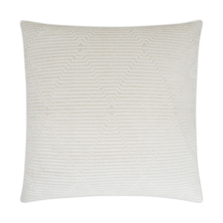 Outline Accent Pillow - Ivory