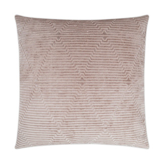 Outline Accent Pillow - Blush