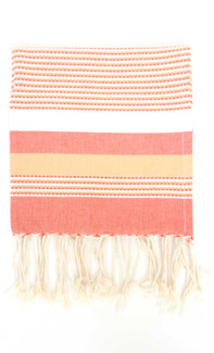 Ibiza Fouta Towel - Orange