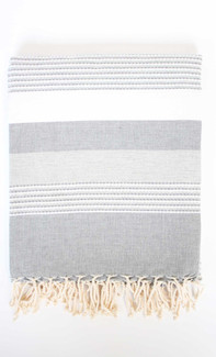 Ibiza Fouta Towel - Grey