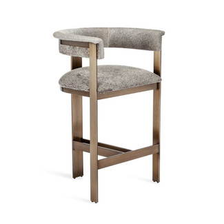 Darcy Hide Counter Stool