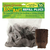 Super Sprouter Root Raft Replacement Plugs 55 ct Cs