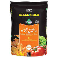 Black Gold Natural and Organic Potting Soil 1.5 cu ft Plt