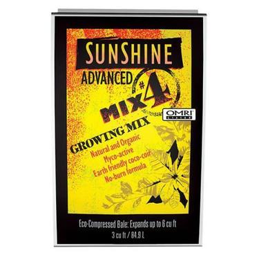 Sunshine Advanced Mix # 4 - 3 cu ft Compressed 35