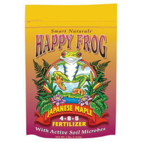 FoxFarm Happy Frog Japanese Maple Fertilizer 4 lb 12/Cs