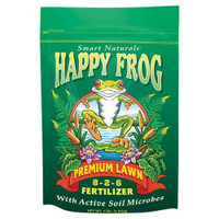 FoxFarm Happy Frog Premium Lawn Fertilizer 4 lb 12/Cs