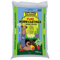 Wiggle Worm Soil Builder Earth Worm Castings 15 lb 150