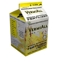 Vermicrop VermiAll Purpose Broad Spectrum Fertilizer 4 lb 4/Cs