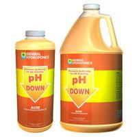 GH pH Down Liquid Quart Cs