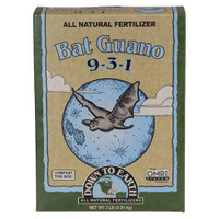 Down To Earth High Nitrogen Bat Guano - 25 lb