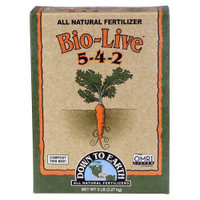 Down To Earth Bio-Live - 5 lb Cs