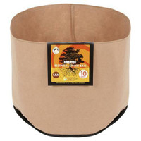 Gro Pro Essential Round Fabric Pot - Tan 45 Gallon 25