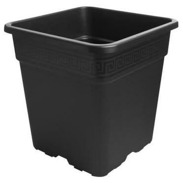 Gro Pro Black Square Pot 1 Gallon