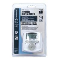 Intermatic 2 Outlet Digital Timer DT620CL 120 Volt