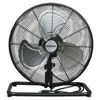 Hurricane Pro High Velocity Metal Floor Fan 18 in