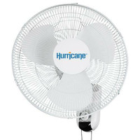 Hurricane Classic Wall Mount Oscillating Fan 16 in Seconds