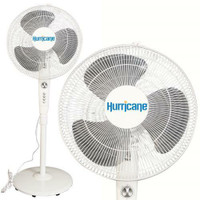 Hurricane Supreme Oscillating Stand Fan 16 in Seconds